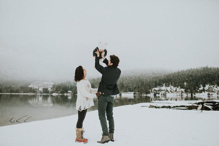 winter whistler portraits